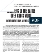Frontiers of the Battle Over God's Word