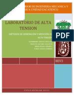 ALTA TENSION (Generacion y Medicion de La Alta Tension)