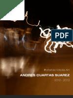 Portafolio Andres Cuartas + Hoja de Vida y Trayectoria