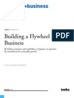 Strategy+Business Building a Flywheel Business