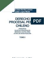 Libro Derecho Procesal Penal Chileno Tomo 1