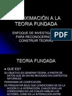 EXPOSICIÓN TEORIA FUNDADA