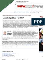 3013-05-15_La salud pública y el TPP _ Roberto López Linares