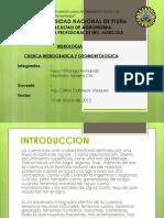Cuenca Hidrografica y Geomorfologica