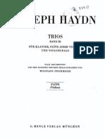 Haydn 3 Trios Pno_ Fl