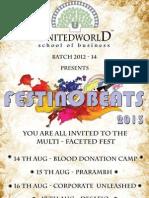 Event Handbook - Festin-O-Beats