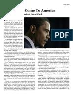 TRANSCRIPT Barack Obama Victory Speech at Grant Park 20081104