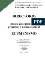 Directorio de Ecumenismo