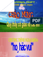 Chuong Trinh Ngoai Khoa Hoa Hoc Vui