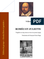 Shakespeare Romeo Et Juliette