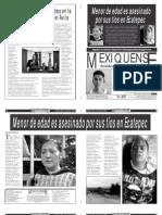 Versión impresa del periódico El mexiquense  9 agosto 2013