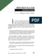 Bertolt Brecht en La Escena Mexicana - Armando Partida