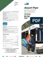 Airport Flyer Brochure