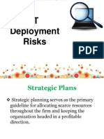 4. IT Deployment Risks