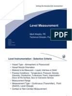 Level Measurement ISA