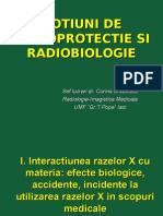 Notiuni de Radioprotectie Si Radiobiologie(1)