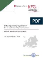 Diffusing (Inter-) Regionalism. The EU as a Model of Regional Integration