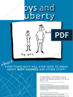 Boys and Puberty Booklet