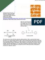Free Radical Vinyl Polymerization