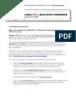 STEMxCON Press Release -  August 2013