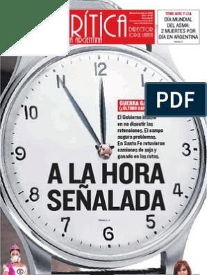 Diario Critica 2008 05 06 Deuda Gubernamental Inflación
