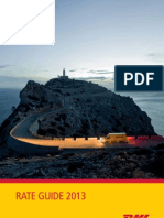 Dhl Rate Guide 2013