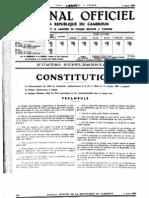 LA REPUBLIQUE DU CAMEROUN ORIGINAL CONSTITUTION MARCH 4, 1960.pdf