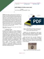 Multipath fading in wireless sensor mote