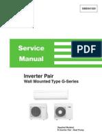 Daikin Splits (FTX-G) Service Manual