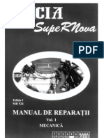 Manual Service Dacia SuperNova Vol. 1