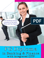 Brochure Pg Diploma in Banking and Finance