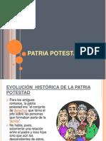Patria Potestad Diapositiva