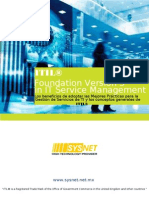 Folleto Fundamentos ITIL v3