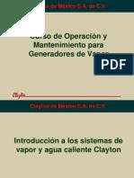 Curso de Operación calderas