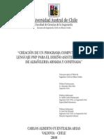 Muros Albañilería Armada y Confinada_Software