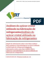 Formulário RT açucar cristal refrigerante 07082013