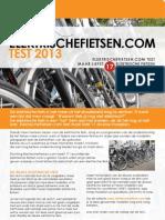 ElektrischeFietsen.com Test 2013