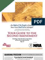 NRA 2013 Second Amendment Guide