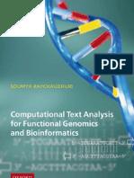 Raychaudhuri_Computational Text Analysis for Functional Genomics and Bioinformatics