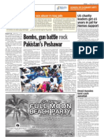 TheSun 2009-05-29 Page10 Bombs Gun Battle Rock Pakistans Peshawar