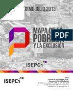 Mapa de La Pobreza y La Exclusion Informe Julio 2013 78