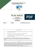 plan anual 2° grado para imprimir