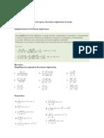 Guia Teo-ejr, Simpl Algebraica