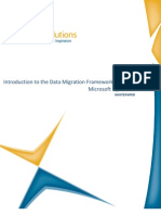 Introduction to the Data Migration Framework