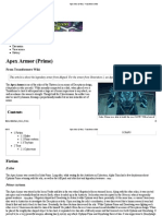 Apex Armor (Prime) - Transformers Wiki