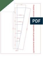 Projeção estrutural da correia do granulador escória.