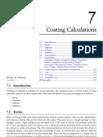 5. Coating Calculations