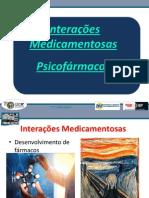_INTERAÇÕES MEDICAMENTOSAS -PSICOFÁRMACOS 2013