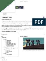 Vehicon (Prime) - Transformers Wiki