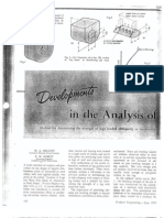 Developments in the Analysis of Lugs and Shear Pins